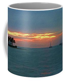 Key West Sunset Coffee Mug by Ron Grafe