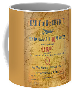 Key West To Havana Coffee Mug