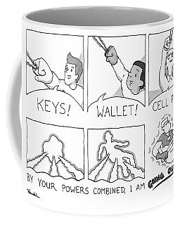 Keys Wallet Cell Phone Coffee Mug