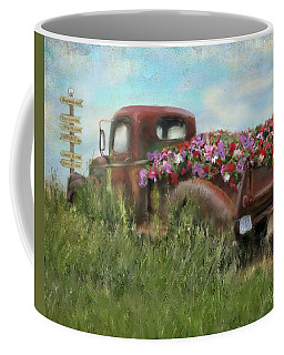 Kicks On Route 66 Coffee Mug by Colleen Taylor