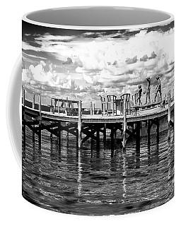 Kids On The Dock Coffee Mug