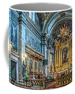 Kielce Cathedral In Poland Coffee Mug