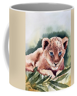 Kijani The Lion Cub Coffee Mug