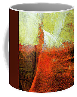 Coffee Mug featuring the painting Kilauea by Dominic Piperata