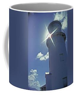 Coffee Mug featuring the photograph Kilauea Lighthouse by Marie Hicks