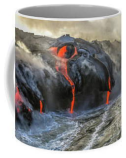 Kilauea Volcano Hawaii Coffee Mug