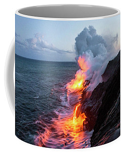 Kilauea Volcano Lava Flow Sea Entry 3- The Big Island Hawaii Coffee Mug