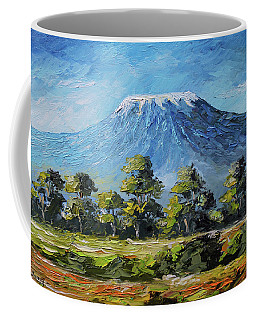 Kilimanjaro Morning Coffee Mug