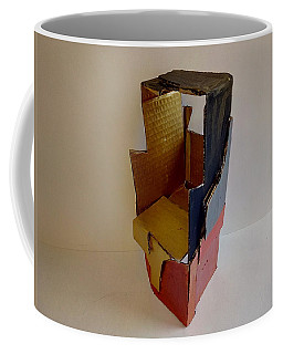 Coffee Mug featuring the mixed media Kill - Maim - Heal 01 by Mudiama Kammoh