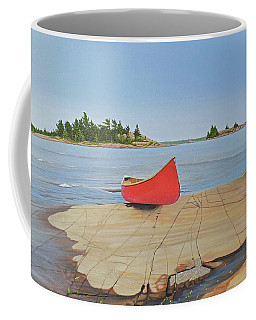 Killarney Canoe Coffee Mug