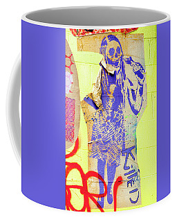 Coffee Mug featuring the photograph Killed by Art Block Collections