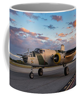 Killer B Sunset Arrival - 2017 Christopher Buff, Www.aviationbuff.com Coffee Mug