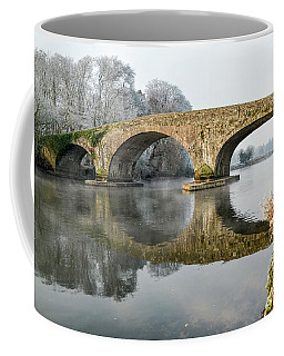 Kilsheelan Bridge In Winter  Coffee Mug