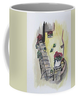 Kimberly's Castellabate Flowers Coffee Mug