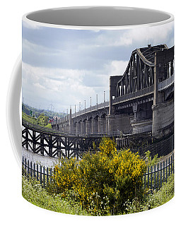Coffee Mug featuring the photograph Kincardine Bridge by Jeremy Lavender Photography