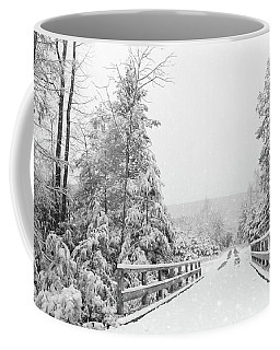 Coffee Mug featuring the photograph Kindness Is Like Snow by Lori Deiter
