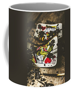 King And Queen Of Broken Hearts Coffee Mug