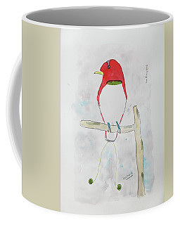 King Bird Of Paradise Coffee Mug by Keshava Shukla