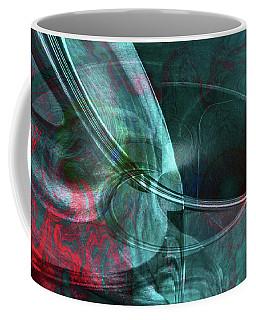 Coffee Mug featuring the digital art King Crimson by Linda Sannuti