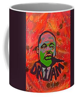 King Dreaming Coffee Mug by Miriam Moran