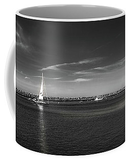 Coffee Mug featuring the photograph King Harbor By Mike-hope by Michael Hope