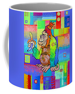 King Konrad The Monkey Coffee Mug