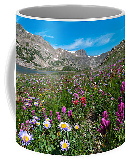 Coffee Mug featuring the photograph King Lake Summer Landscape by Cascade Colors