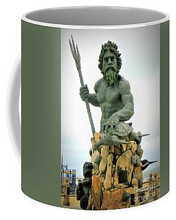 King Neptune Statue Coffee Mug