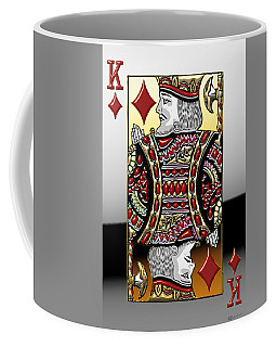 King Of Diamonds   Coffee Mug
