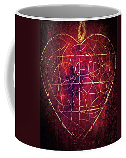 Coffee Mug featuring the photograph King Of Hearts by Linda Sannuti