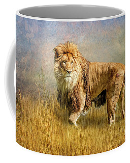 King Of The Serengeti Coffee Mug