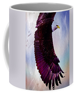 Coffee Mug featuring the painting King Of The Skies by Mark Taylor