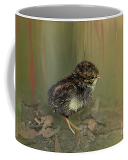 King Quail Chick Coffee Mug
