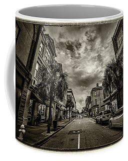 King St. Storm Clouds Charleston Sc Coffee Mug