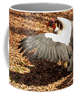 Coffee Mug featuring the photograph King Vulture 3 Strutting by Chris Flees