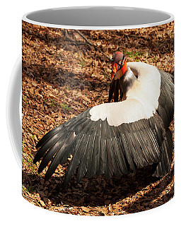 Coffee Mug featuring the photograph King Vulture 4 Strutting by Chris Flees