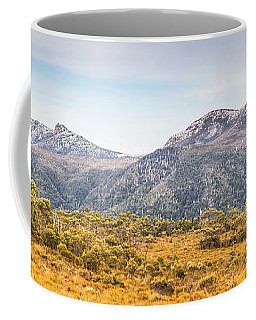 King William Range. Australia Mountain Panorama Coffee Mug