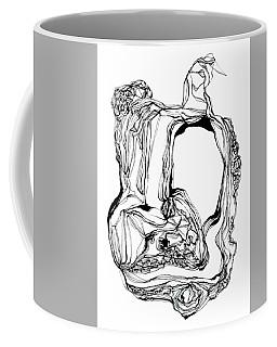 King With Cat Coffee Mug