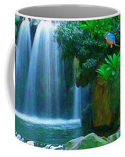 Kingfisher Falls Coffee Mug