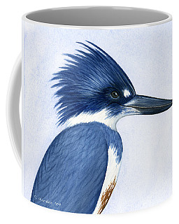 Kingfisher Portrait Coffee Mug
