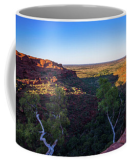 Kings Canyon Panorama Coffee Mug
