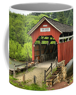 Kings Covered Bridge Somerset Pa Coffee Mug