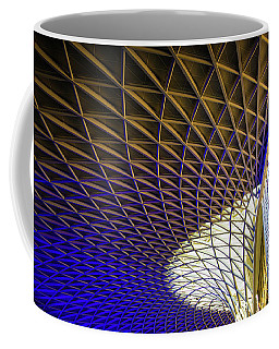 Kings Cross Railway Station Roof Coffee Mug