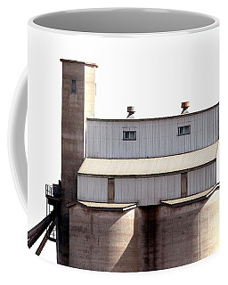 Coffee Mug featuring the photograph Kingscote Skyrise by Stephen Mitchell