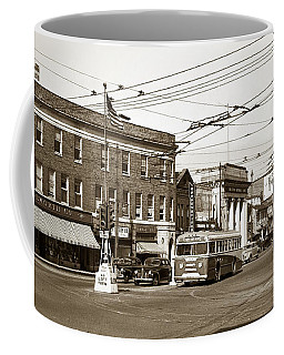 Kingston Corners Kingston Pa Early 1950s Coffee Mug