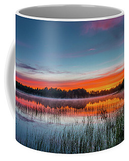Kingston Lake Sunset Coffee Mug