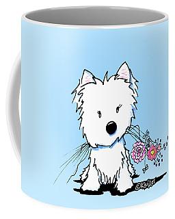 Kiniart Flower Ninja Coffee Mug