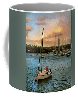 Kinsale Harbour Evening Coffee Mug by Jeff Kolker