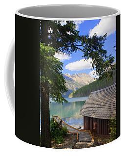 Kintla Lake Ranger Station Glacier National Park Coffee Mug