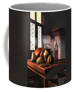Kinzeliin Still Life 1 Coffee Mug by Dave Luebbert